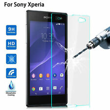 Tempered Glass Screen Protector For Sony Xperia 1 5 10 Plus L1/L2/L3/XA3/XZ3/XZ2