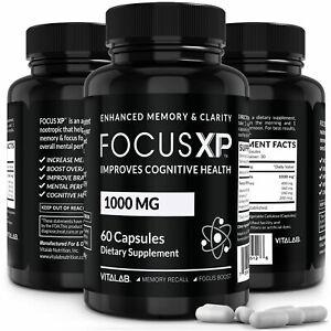Focus XP Memory & Focus Booster Brain Supplement Advanced Mind Clarity Nootropic