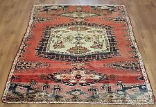 OLD WOOL HAND MADE PERSIAN ORIENTAL FLORAL RUNNER AREA RUG CARPET 185x128CM