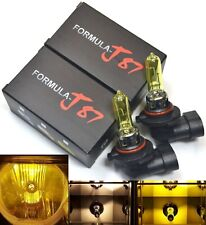 Rally 9005 HB3 100W 3000K Yellow Two Bulbs Head Light High Beam High Watt Lamp