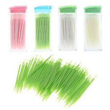Box Of Toothpicks Portable Plastic Toothpick 50 Pack No Smell Oral Dental Pick