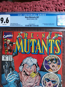 CGC 9.6 lot New Mutants 87 1st app Cable The Avengers 181 1st Scott Lang/Ant-Man