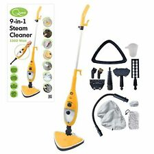 Quest 12 in 1 1300-Watt Steam MOP Cleaner Steamer Floor Carpet Window Tile Washer
