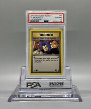 PSA 10 GEM MINT Here Comes Team Rocket 1ST EDITION Team Rocket Pokemon Card