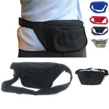 Fanny Pack Waist Purse Travel Pouch Money Passport ID Belt Bag Pockets 48