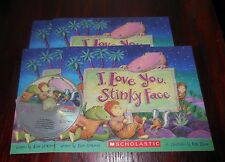 I Love You Stinky Face New Scholastic Listening Center 4 Books with CD