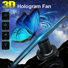 WiFi 3D Holographic Projector Hologram LED Display Fan Advertising Machine 16GB