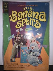 🍌 The Banana Splits No.2 Hard To Locate Issue in Run 1970 Gold Key Comic VG+