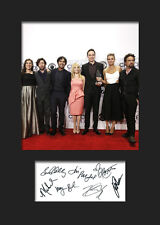 THE BIG BANG THEORY #2 A5 Signed Mounted Photo Print (RePrint) - FREE DELIVERY