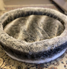 Luxury Pet Bed - Faux Fur Round Bed. RRP 200+