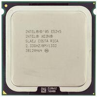Intel Xeon QUAD CORE CPU Processor 2.33GHz E5345 8Mb1333 MHz Stepcode SLAEJ