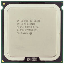 Intel Xeon QUAD CORE CPU Processor 2.33GHz E5345 8Mb1333 MHz Stepcode SLAEJ