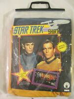 Vintage Rubies 15200 Costume Star Trek Capt Kirk Size Large New Yellow Cos Play