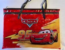 Disney Cars - MCQUEEN & TOW MATER CARRY TOY BOOK LIBRARY SCHOOL KINDER BAG