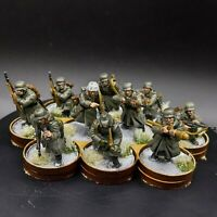 Well Painted 28mm Bolt Action German Winter Infantry ×10 Squad #1