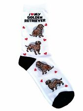 I Love My Golden Retriever (631086) Women Size Socks