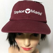 Talormade Taylor Made 851115 Promo Bordeaux Golf Baseball Cap Hat NWT