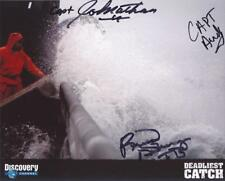 Deadliest Catch- Color Photo Signed by 3 Captains