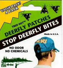 12 pk Deerfly Patches, TredNot Deer Fly Patch Odorless repellent Usa