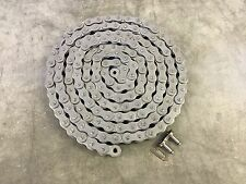 #60 (60-1) Roller Chain 10ft w/Connecting Link ANSI Standard 60-1R x 10'