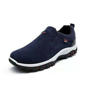 Mens Casual Outdoor Lightweight Sneakers Flats Fashion Comfy Sports Hiking Shoes