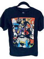 Men's Marvel DC Comics Originals Batman Characters Crew T-Shirt Size Small EUC