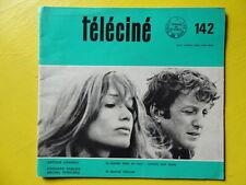 Téléciné n° 142 1968 Bonnie & Clyde Arthur Adamov Jean Mitry télévision