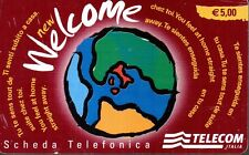 35-Scheda telefonica internazionale Welcome telecom € 5,00