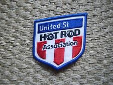 United St Hot Rod Association Embroidered Iron On Patch Member Decal Jacket Vest