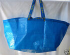 4  LARGE IKEA FRAKTA Blue Shopping Bags  Tote Grocery Eco Reusable~FAST SHIPPING