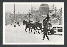 Rotterdam uit vervlogen jaren. No 162 Het Bosje in de sneeuw