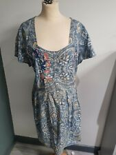 Joe Browns Embroidered Top Size 26 Vgc