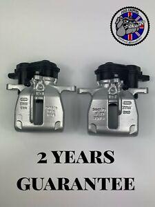 GENUINE AUDI A4 S4 B8 Rear LEFT + RIGHT TRW electric brake calipers 300mm DISCS
