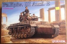 Dragon 1/35 scale WWII German Pz.Kpfw. III Ausf E  #9040 New Sealed *US seller*