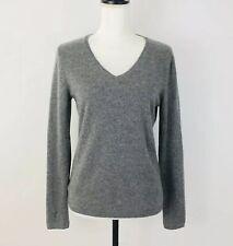 Madison Women's Long Sleeve Lightweight Cashmere Pullover Sweater Sz M