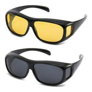 Polarisierte Überzieh Sonnenbrille Überziehbrille Überbrille für Brillenträger