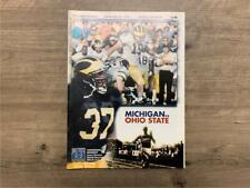 1995 MICHIGAN FOOTBALL GAME PROGRAM NOV 25 OHIO STATE THE GAME
