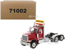 INTERNATIONAL HX520 DAY CAB TANDEM TRACTOR RED 1/50 BY DIECAST MASTERS 71002