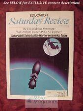 Saturday Review June 24 1972 SYLVIA ASHTON-WARNER GEORGE MALKO PETER H. SCHUCK