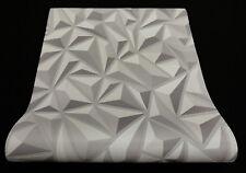 6478-15) moderne Vliestapete mit schicker 3D Optik  grau + hellgrau