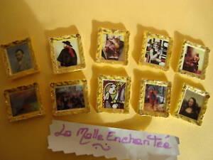 LA SERIE DE FEVES LES TABLEAUX DE MAITRES 10 FEVES