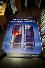 REDBULL Style A 4x6 ft Shelter Original Drink Food Advertising Poster 2017