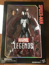 MARVEL LEGENDS SERIES SPIDER-MAN BLACK SYMBIOTE ACTION FIGURE 12INCH NEW IN BOX!