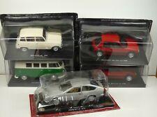 KAS4 LOT de 5 voitures 1/24 collection cassés broken models
