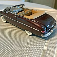 DANBURY MINT 1949 MERCURY CONVERTIBLE CAR MAROON 1:24
