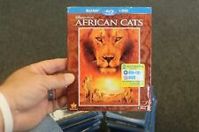 Disneynature AFRICAN CATS Comes with Slipcover!  New Slip cover corners have dm