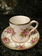 Vintage - Foley - Bone China - Made in England - Demitasse Cup and Saucer - Rose