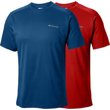 "New Mens Columbia ""Fourmile"" Crew Omni-Wick Short Sleeve T-Shirt Top Tee"
