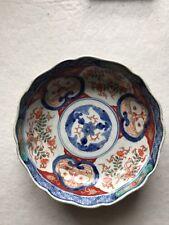 More details for antique japanese porcelain famille rose bowl