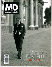 M&D MUSICA E DISCHI N° 723/2008 ANDREA  BOCELLI WEBRADIO ELISA